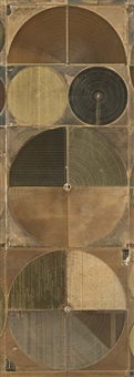 pivot irrigation #4 by edward burtynsky