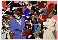 jazz ii deluxe by romare bearden