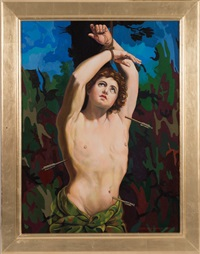 martyrdom (st. sebastian) by giancarlo impiglia