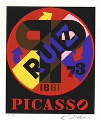 the american dream: picasso by robert indiana
