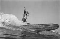 dewey weber, 22nd street, hermosa beach by leroy grannis