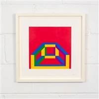 isometric figure by sol lewitt