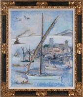 cannes, le port by kees van dongen