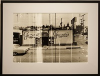 sunset strip (gazzarri's) by ed ruscha