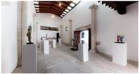 installation view herkules exhibition, oratori de sant feliu, kewenig palma by markus lüpertz