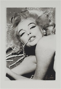 marilyn with jewels (from the last sitting for vogue magazine) by bert stern