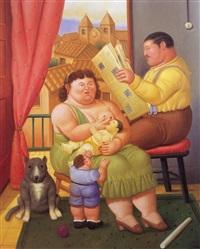 la familia by fernando botero