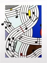 composition i by roy lichtenstein