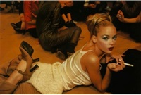 james king backstage, paris by nan goldin