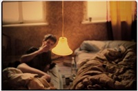 dave in bed by nan goldin