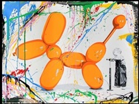 poppy (orange) by mr. brainwash