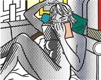nude reading by roy lichtenstein