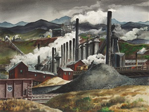 industrial vista by henry martin gasser