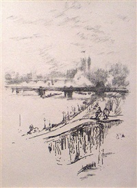 savoy pigeons by james abbott mcneill whistler