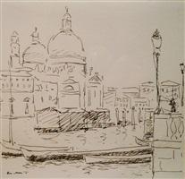 canal san marco, venise by albert marquet