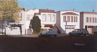 four houses on pennsylvania avenue by robert bechtle