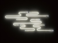 cloud neon by cerith wyn evans