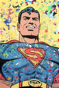 superman by mr. brainwash
