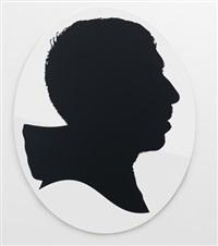 gilles, silhouette by julian opie