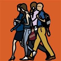 people. 9. coloured by julian opie
