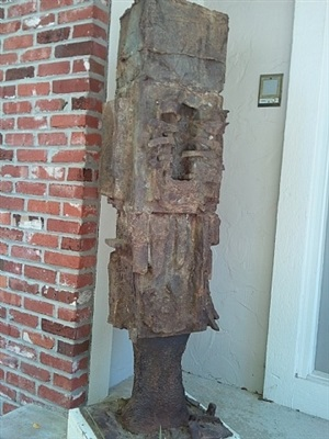 iron standing by dale eldred