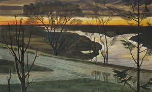 november dawn by charles ephraim burchfield