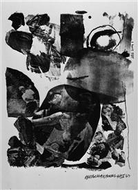 test stone #1 by robert rauschenberg
