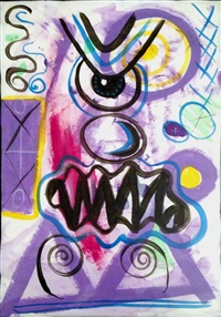scary modern by kenny scharf