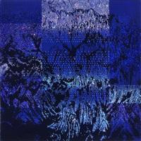 neo-geo blue (artificial landscape series) by kim jongsook