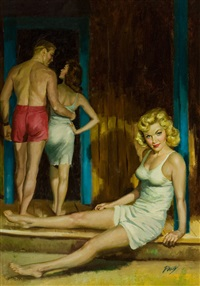 love camp, paperback cover by julian paul