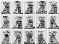 fördertürme (winding towers) by bernd and hilla becher