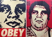 obey '89 (+ obey '95; 2 works) by shepard fairey