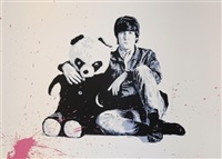 all you need is love (homage to john lennon) by mr. brainwash