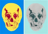 till death do us part (2 works) by damien hirst
