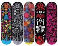 skate decks (set of 5) by ryan mcginness