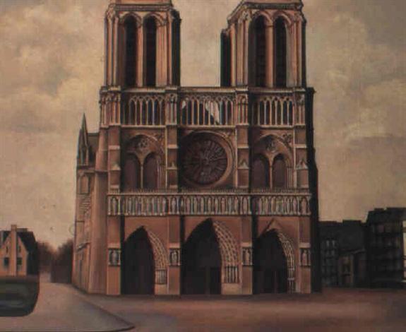 Billedresultat for auguste herbin Notre Dame